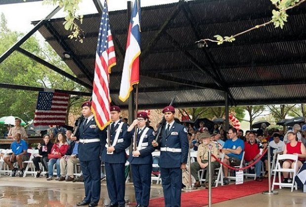 Remember those who have given their lives for our great country at the Sugar Land Memorial Day Ceremony/Photo via City of Sugar Land.