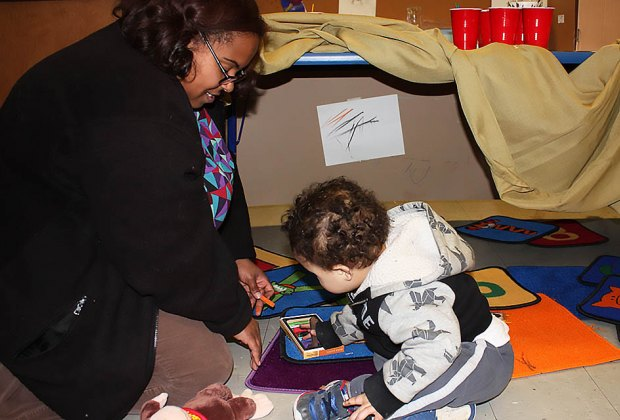Explore the State Museum of New Jersey with your baby, toddler or preschooler! Photo courtesy of the museum