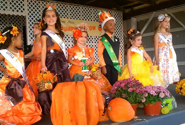 Watch the crowning of Little Miss and Little Mister Pumpkin at the South Jersey Pumpkin Show Festival. Photo courtesy of the festival