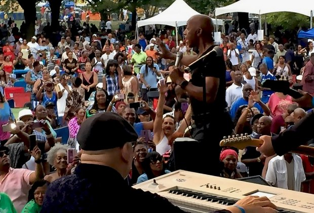 Party and dance in the streets at the South Shore Summer Festival. Photo courtesy of the festival