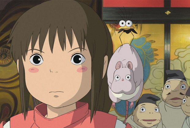 Introduce the kids to the classic animated film Spirited Away. Photo courtesy of Studio Ghibli