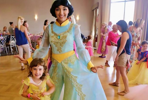 Pamper your little princess at the Long Aquarium's Princess Tea Party. Photo courtesy of A Spoonful of Sugar Entertainment
