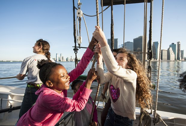 Discover the magic of maritime adventures at South Street Seaport Museum. Photo by Richard Bowditch