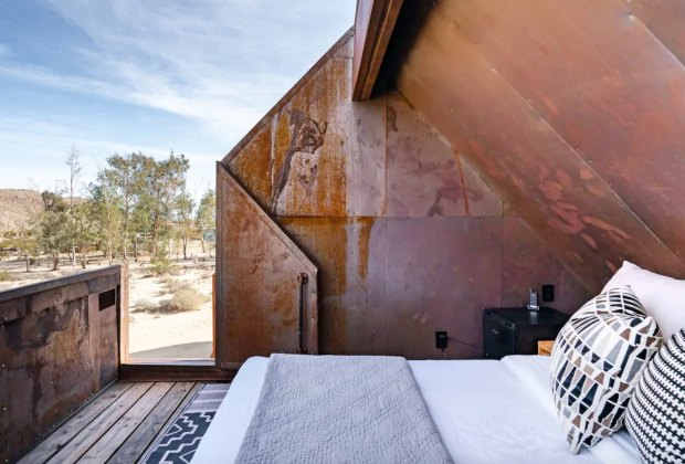 California Vacation Home Rentals for Families: Sleep under the stars.