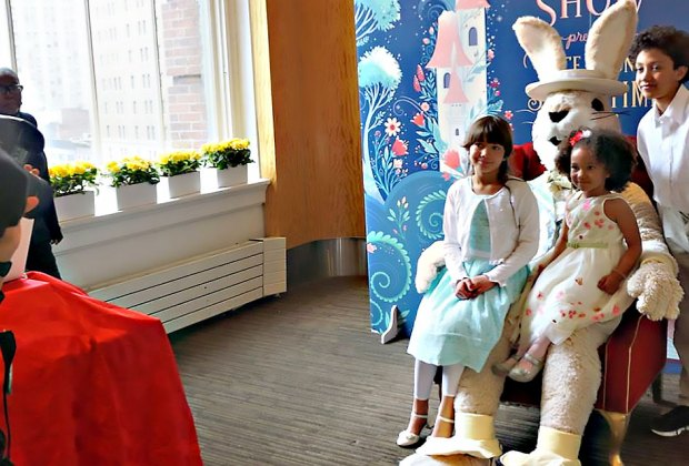 Dress in your Easter best for brunch with the Easter Bunny at Macy's Stella34. Photo by Jody Mercier