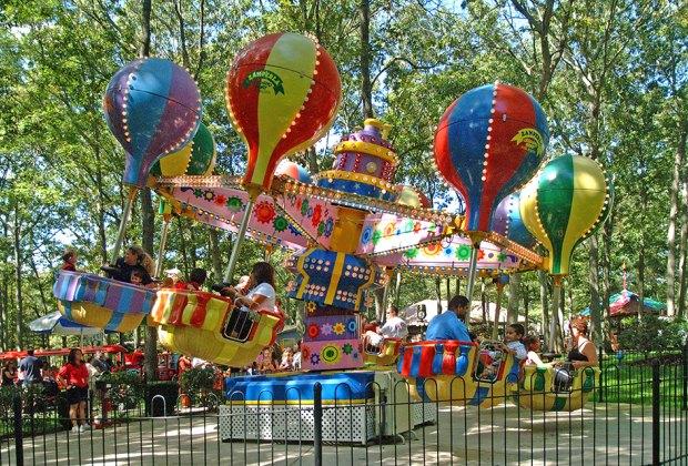 storybook land balloon ride nj staycation