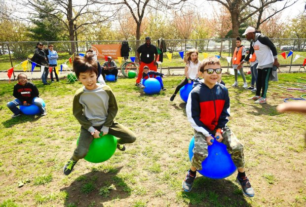 Get ready for old-school fun at the 12th Annual Street Games at Thomas Jefferson Park in East Harlem. Photo courtesy of NYC Parks