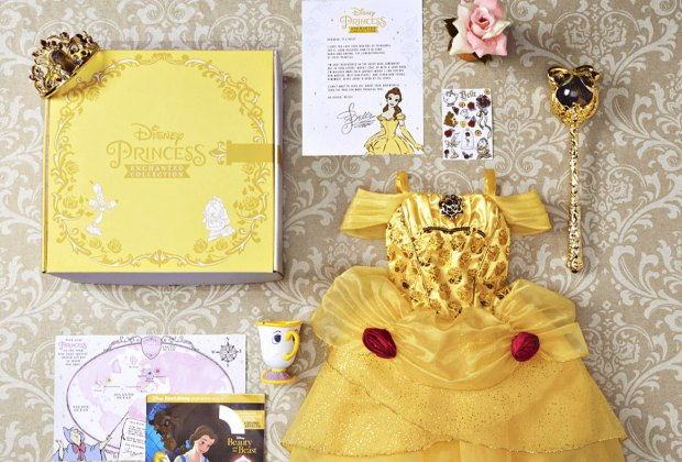 The first box is Belle-themed and will be delivered in December.