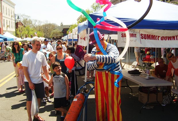 Find good eats and entertainment at the Summit Summer Street Festival on Sunday. Photo by Darryl Walker