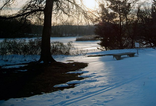 Sunken Meadows State Park offers cross-country skiing trails