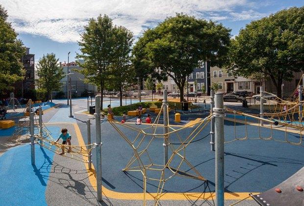 Boston Playgrounds with Brain-Boosting Fun: Sweeny Playground