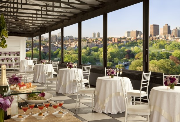 Enjoy gorgeous views along with a festive brunch at the Taj Boston. Photo courtesy of the Taj Boston