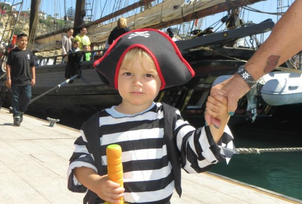 Ahoy matey! Photo from the Tall Ships Festival courtesy of the Ocean Institute