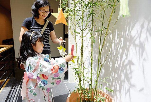 Celebrate the star festival Tanabata with stories and crafts at the Japan Society. Photo courtesy of the Japan Society