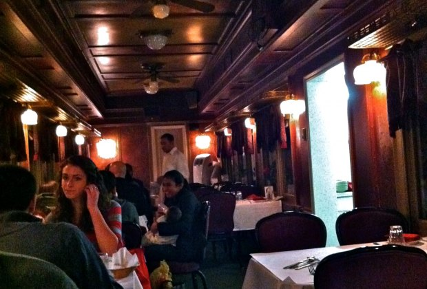 Tandoor Palace in nearby Tannersville is in an old railway dining car.