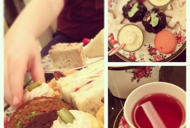 A White Christmas Tea at the Langham Hotel