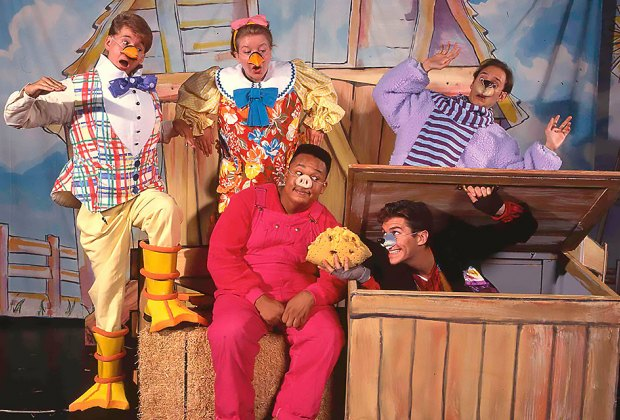 The beloved tale of Charlotte's Web comes to life on the Adelphi University stage. Photo curtesy of Theatreworks USA