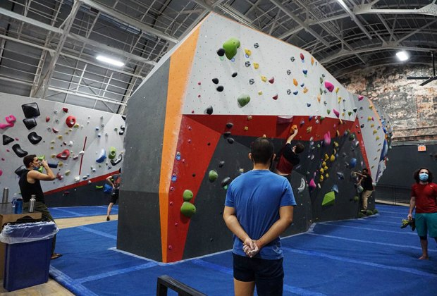 climbing walls The Cliffs at Harlem