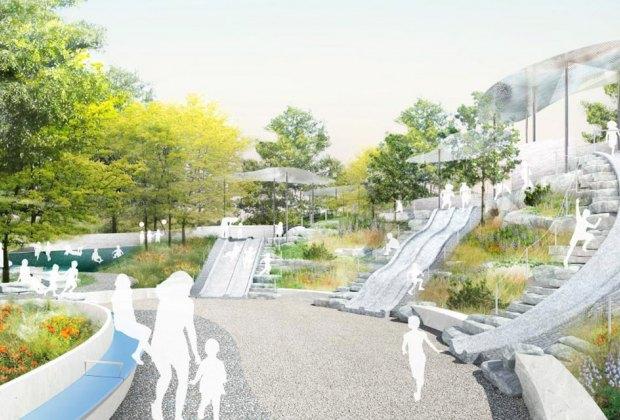 The Battery Playscape is an anticipated new opening in 2021
