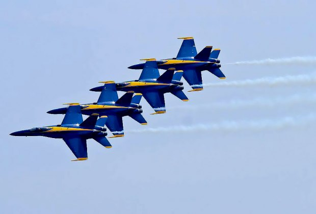 Thrill to The Blue Angels at the Bethpage Federal Credit Union Air Show at Jones Beach. Photo courtesy of the credit union