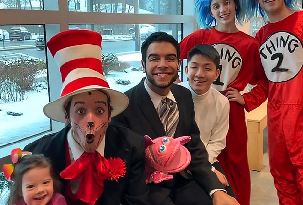 Enjoy the beloved Cat in the Hat at The Showplace at Bellmore Movies. Photo courtesy of Plaza Theatrical Productions
