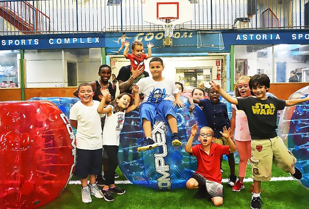 Sports-minded kids will be thrilled with a birthday party at The Complex. Photo courtesy the venue