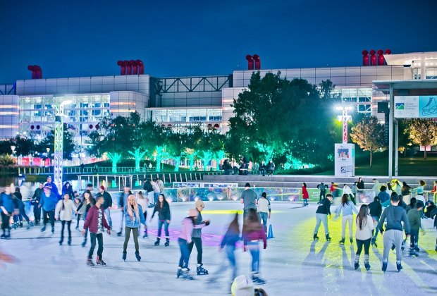 There's still time to get in some ice skating this weekend before The Ice disappears until next year!/Photo courtesy of Morris Malakoff, the CKP Group.