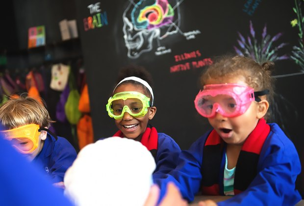 Kids can experience the sciences hands-on with unique themed birthday experiences at The Laboratory Chicago.