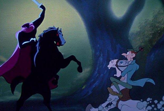 Catch a screening of Disney's The Legend of Sleepy Hollow at Tarrytown Music Hall on Sunday.  © 1949 Walt Disney Animation Studios