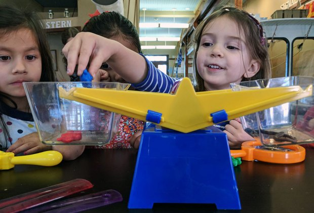 The Long Island Explorium offers weekly programs for wee-ones called Little Sparks.