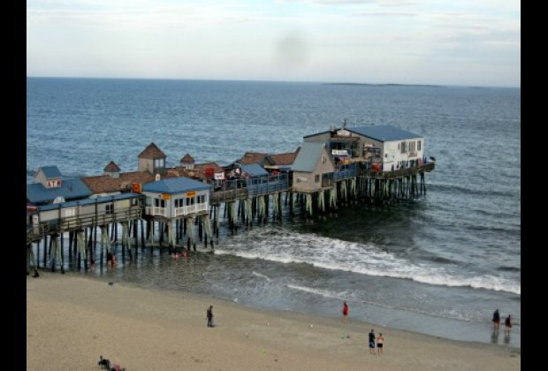 The pier has been the entertainment spot at Old Orchard Beach for over 100 years.