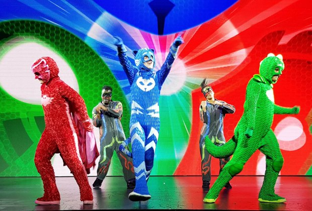 Thrill to the PJ Masks superhero trio at NYCB Live Nassau Coliseum. Photo courtesy of the production