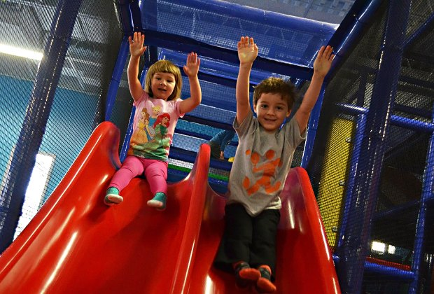 The Play Place is open for indoor fun seven days a week from 9am to 6pm.