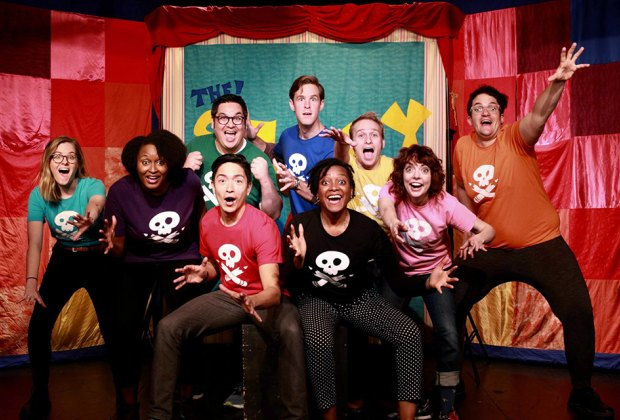 The Story Pirates celebrate spring with an all-ages sketch comedy performance. Photo courtesy of the production