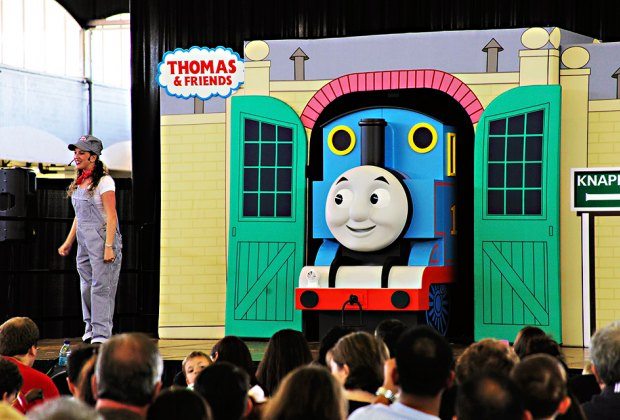 Thomas and Friends at the New York Botanical Gardens. Photo courtesy of NYBG