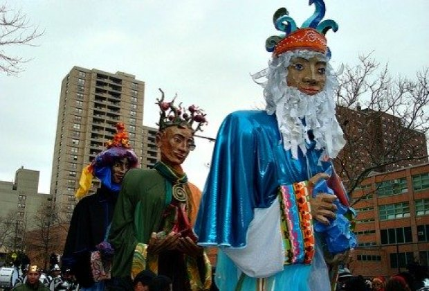 And the Three Kings Day Parade