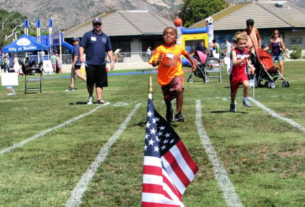 It's Tiny Tot Olympics time! Photo courtesy of the City of Malibu