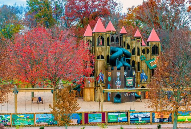 Kids Castle Park in Doylestown is great for big and little kids. Photo courtesy park organizers
