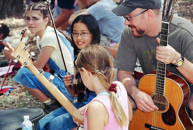 Photo courtesy of the Topanga Banjo Fiddle Festival