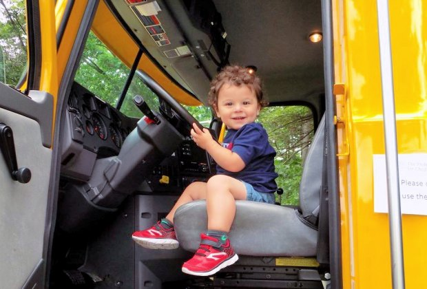 Touch a Truck. Photo courtesy of Professional Center For Child Development School