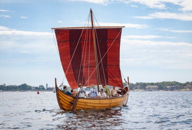 Vikings in Port. Photo courtesy of Trails & Sails