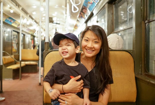 The Transit Museum is one of our favorite museums for NYC kids, and a great place to escape the summer heat.