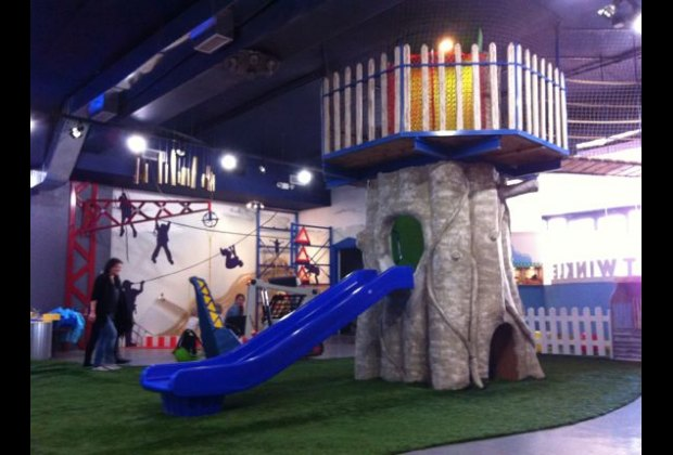 Though primarily aimed at preschoolers, Twinkle also has an enclosed baby play area
