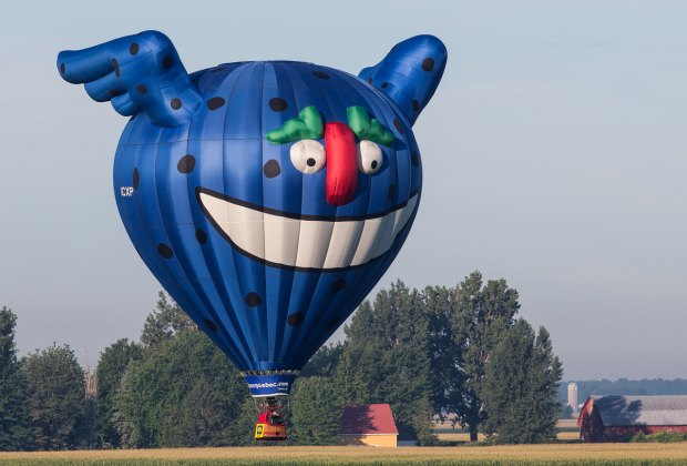 The 27th annual Hudson Valley Balloon Festival hosts balloonists from all over the country.