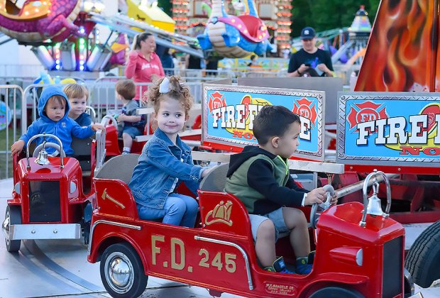 The Tri-County Fair in Rockaway features rides for all ages.