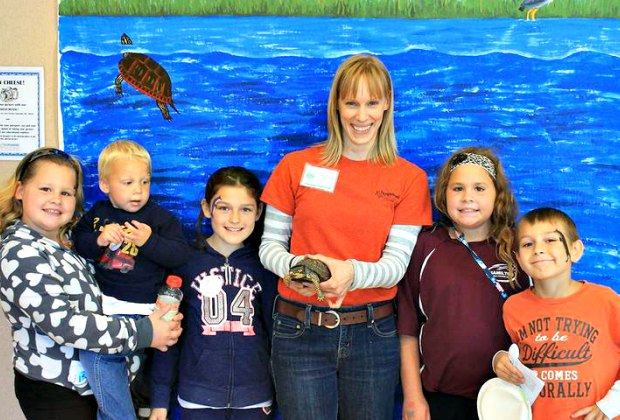 Meet some reptiles at the Tulpehaking Nature Center on Saturday. Photo courtesy of the nature center.