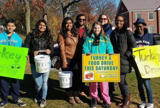 The Community Food Bank of New Jersey hosts an annual Turkey Drive to collect holiday meals for local families.