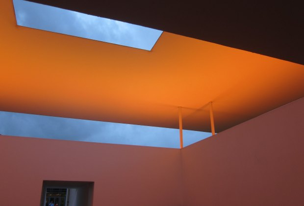 James Turrell's Twilight Epiphany skyspace at Rice University