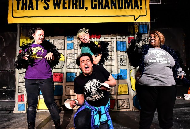 That's Weird, Grandma: Stories That Sing and Dance takes the stage this Sunday. Photo courtesy of the theater