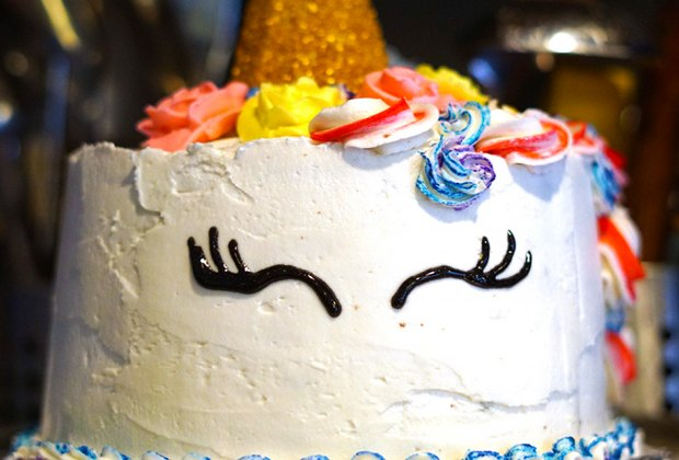 Birthday Cake Ideas for a Kids' Birthday Party: This unicorn cake is actually easy to make